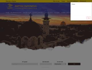 raptim-indonesia.co.id screenshot