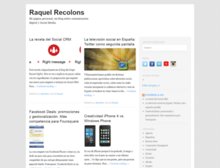 raquelrecolons.es screenshot
