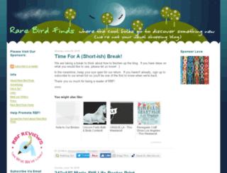 rarebirdfinds.typepad.com screenshot