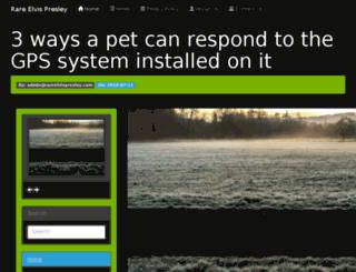 rareelvispresley.com screenshot