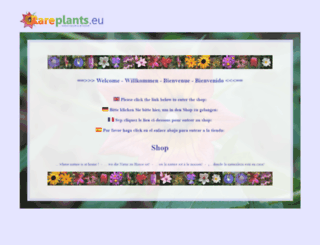 rareplants.de screenshot