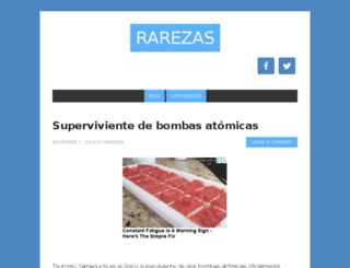 rarezas.org screenshot