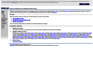 rarsoft.com screenshot