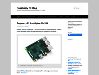 raspberrypiblog.de screenshot