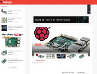raspberrypis.net screenshot
