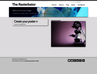 rasterbator.net screenshot
