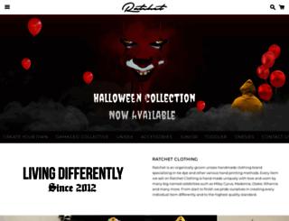 ratchetclothing.co.uk screenshot