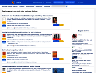 ratebe.com.au screenshot
