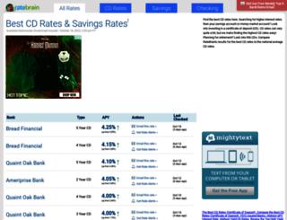 ratebrain.com screenshot