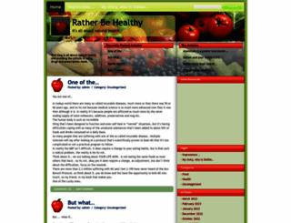 ratherbehealthy.com screenshot