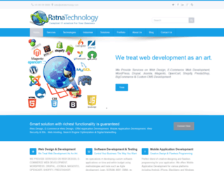 ratnatechnology.co.in screenshot