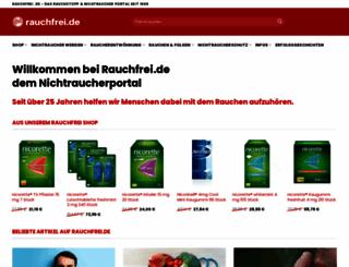 rauchfrei.de screenshot