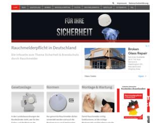 rauchmelder-shop.de screenshot