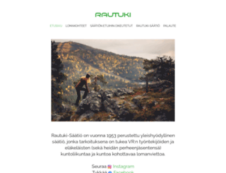 rautuki.fi screenshot