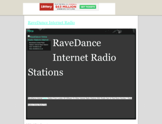 ravedance.tripod.com screenshot