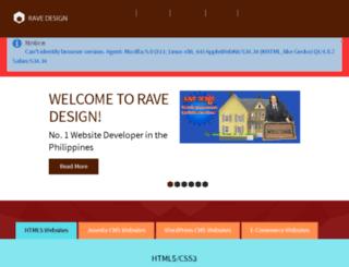 ravedesign.isipfabrication.com screenshot