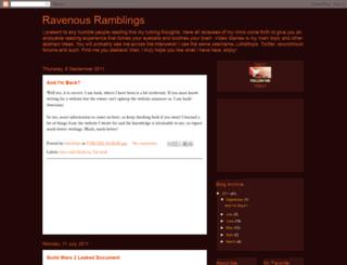ravenous-ramblings.blogspot.com screenshot