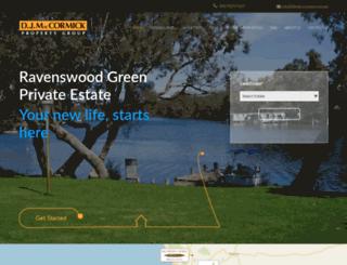 ravenswoodgreen.com.au screenshot