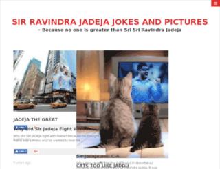 ravindrajadejajokes.com screenshot