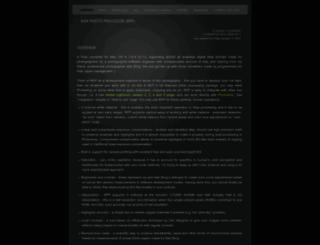 raw-photo-processor.com screenshot