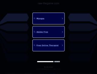 raw-thegame.com screenshot