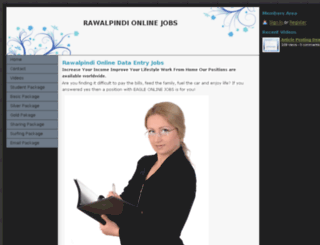 rawalpindionlinejobs.webs.com screenshot