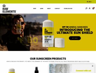 rawelementsusa.com screenshot