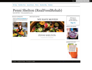 rawfoodrehab.ning.com screenshot