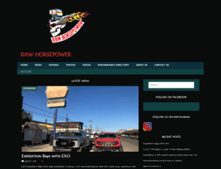 rawhorsepower.com screenshot