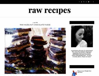 rawlifestyleco.blogspot.com.au screenshot
