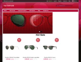 ray-banusa.com screenshot