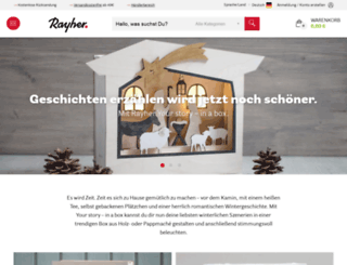 rayher-hobby-shop.de screenshot
