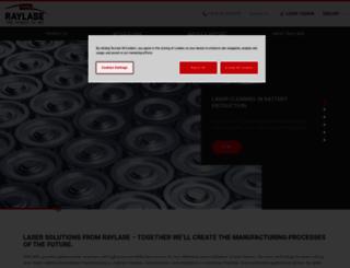 raylase.com screenshot