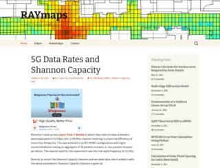 raymaps.com screenshot