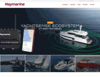 raymarine.se screenshot