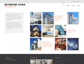 raymondchanarchitect.com screenshot