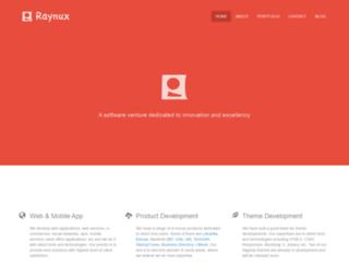 raynux.com screenshot