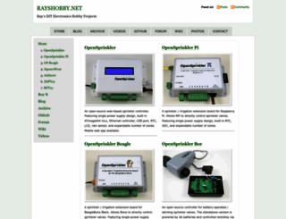 rayshobby.net screenshot