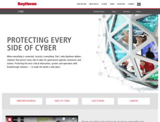 raytheoncyber.com screenshot