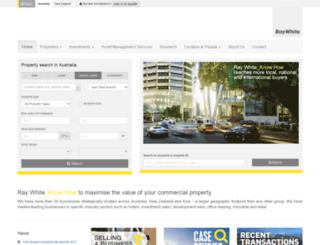 raywhitecommercial.com.au screenshot
