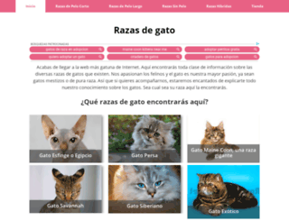 razasdegato.net screenshot