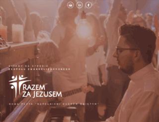 razemzajezusem.pl screenshot