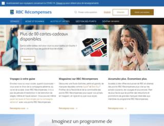 rbcrecompenses.com screenshot
