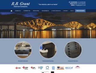 rbgrant.co.uk screenshot
