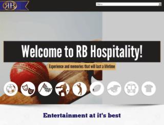 rbhospitality.co.za screenshot