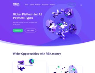 rbkmoney.com screenshot