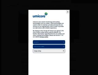 rbm.umicore.com screenshot