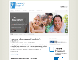 rbpinsurance.com screenshot