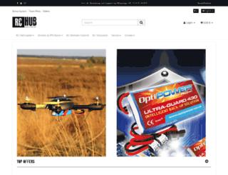 rc-hub.de screenshot