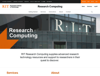 rc.rit.edu screenshot